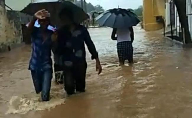 Heavy Rains In Anantapur, YSR Districts - Sakshi