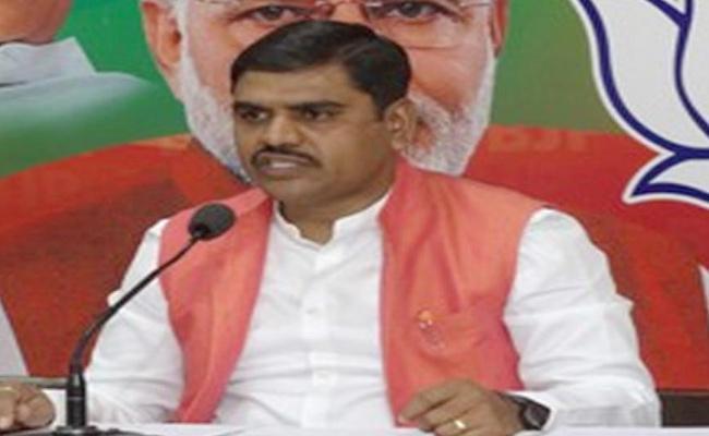 BJP Leader Vishnu Vardhan Commented On Chandrababu In Guntur - Sakshi