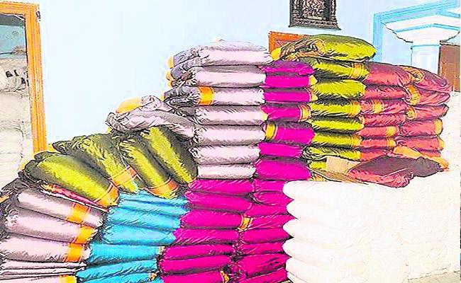 Government Implementing Bathukamma Saree Distribution In Telangana - Sakshi