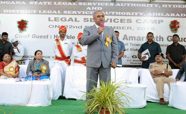 Judge Amarnath Speech In Adilabad - Sakshi