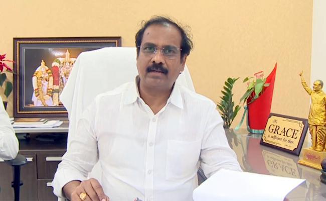 Minister Kannababu Says Kurnool Seed Park Has Been Neglected TDP Government - Sakshi