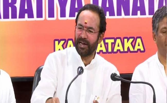 Survey In Kashmir For Open Temples And Schools Says Kishan Reddy - Sakshi