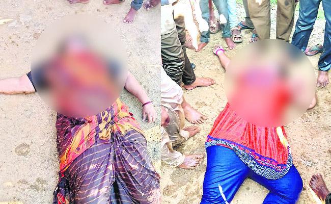 Two Women Died In Road Accident At Warangal - Sakshi