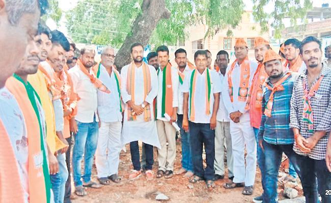 BJP Raghunandan Rao Speech In Shabad At Rangareddy - Sakshi