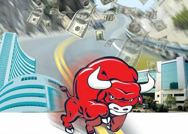 Sensex soars over 1,300 points to reclaim 39,000 level - Sakshi