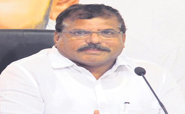 Botsa Satyanarayana On Demolishing Illegal Construction - Sakshi