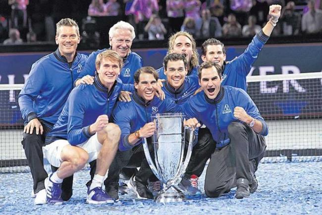 Team Europe Retains Laver Cup Title - Sakshi