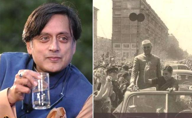 Shashi Tharoor Brutally Trolled For Calling Indira Gandhi as India Gandhi - Sakshi