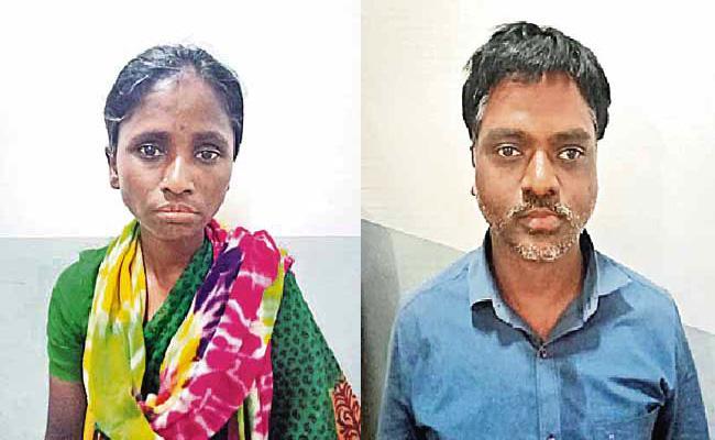 Wife Killed Husband in Hyderabad - Sakshi