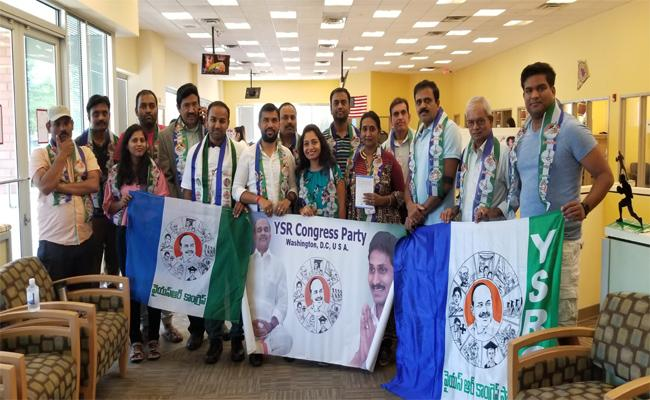 Death Anniversary Of YS Rajashekar Made By YSRCP NRI And Washington DC Metro NRI Wing In America - Sakshi