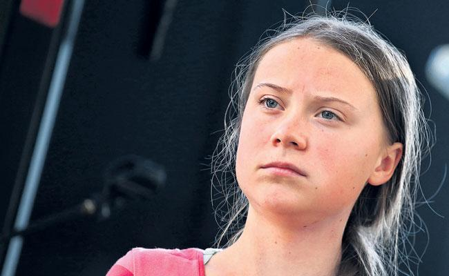 Greta Thunberg After Pointed U.N. Speech Faces Attacks From the Right - Sakshi