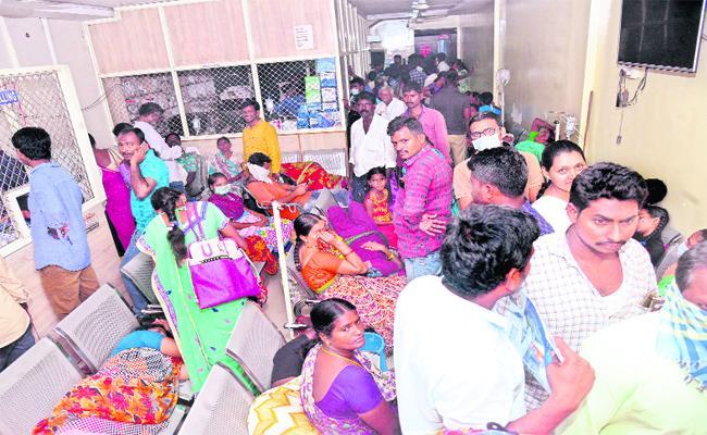 Private Hospital Mafia In Khammam District - Sakshi