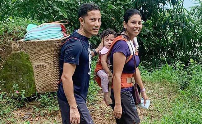 Meghalaya IAS Officer Weekly Veggie Shopping Inspires Youth - Sakshi