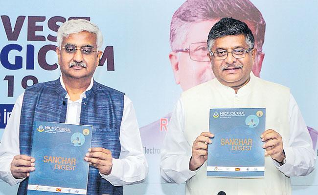India Must Aim To Attract Largest FDI Share In The World Says  Ravi Shankar Prasad - Sakshi