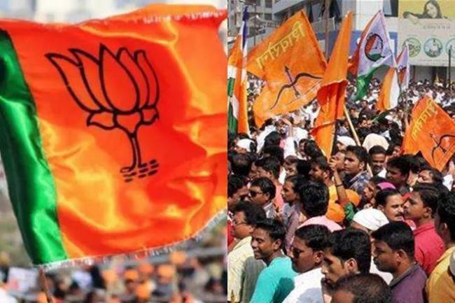 BJP-Sena Seat-Sharing Announcement:Amit Shah Cancels Mumbai visit - Sakshi