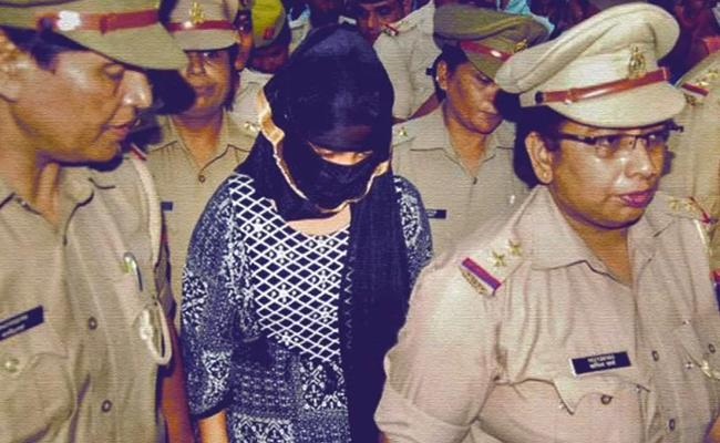 Accused In Chinmayanand Rape Case Arrested In Extortion Case - Sakshi