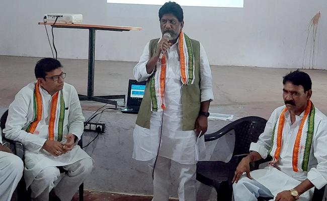 CLP Leader Bhatti Vikramarka Explained Telangana State Debt to Congress Leaders - Sakshi