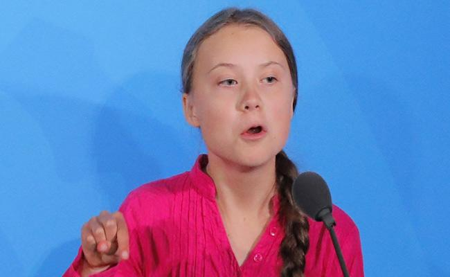 Sakshi Editorial On Greta Thunberg Speech In UN