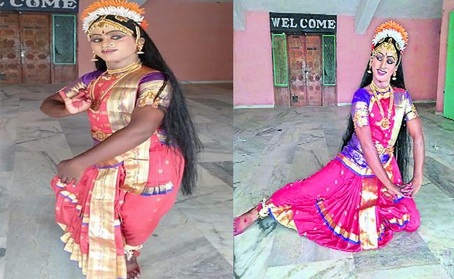 Sreenivasulu Talented In Kuchipudi, Bharatanatyam Kurnool - Sakshi