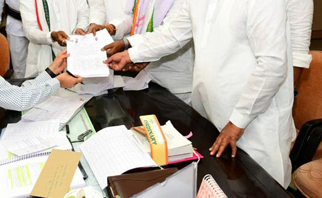 Sarpanches to File Nominations for Huzurnagar By Poll - Sakshi
