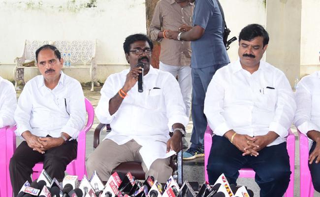 Puvvada Ajay Kumar Said Sitarama Project In Khammam District - Sakshi