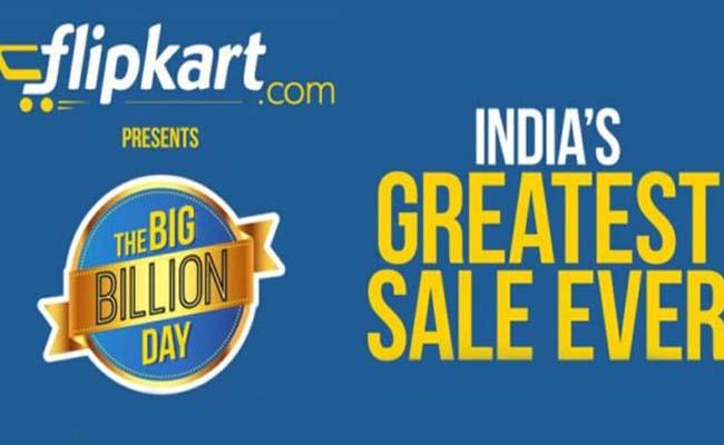Flipkart Big Billion Days 2019: 29th Sep to 4th Oct - Sakshi