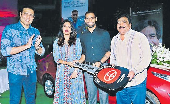 Hanuma Vihari Gets Honour - Sakshi