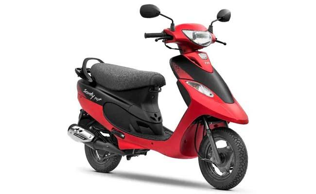 on 25 Years Of The Scooter TVS Scooty Pep Plus  Matte Edition Launched   - Sakshi