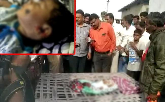 Maternal Uncle Killed Three months Old Child In Nalgonda - Sakshi
