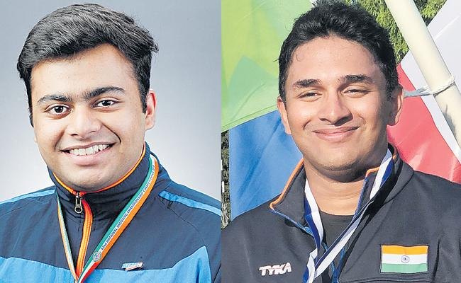 Ayush And Abid In National Shooting Team For Asian Championship - Sakshi