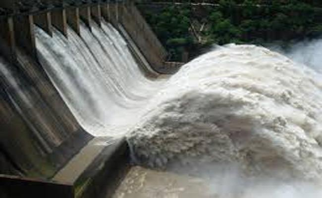 1,230 TMCs Into Srisailam - Sakshi