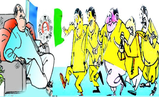 TDP Leaders Wants To Jump Into YSRCP In Vizianagaram - Sakshi
