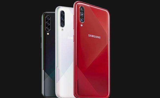 Samsung Galaxy A70s Launched in India - Sakshi