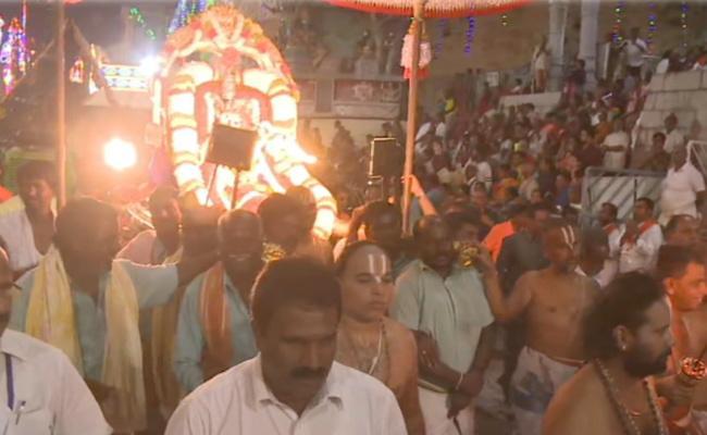 Srivari Brahmotsavam Inaugurations Ceremony in Tirumala - Sakshi