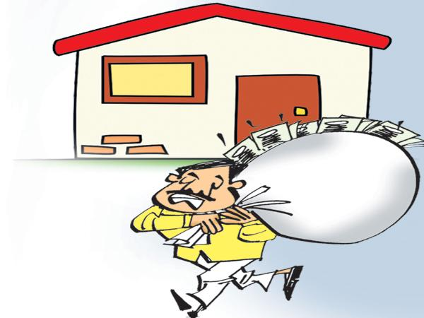 TDP government irregularities also In the poor people houses - Sakshi