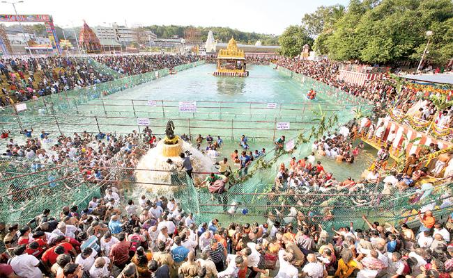 108 Pilgrimage in Thirumala Hills - Sakshi