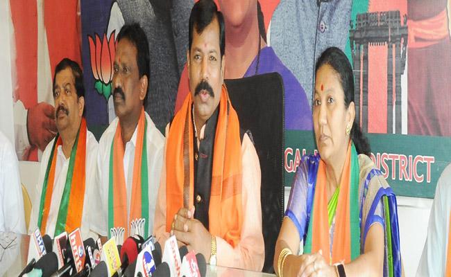 BJP Trying To Implement Sampark Abhiyan In Warangal - Sakshi