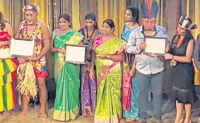 UNDP Awards Take DDS Women In Sangareddy - Sakshi