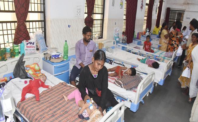 Viral Fever Is Spreading In Children At Guntur - Sakshi