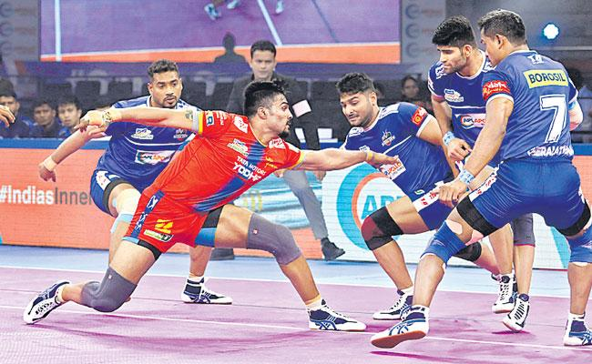 Gujarat Fortune Giants Thrashes Thalaivas By 29 Points - Sakshi