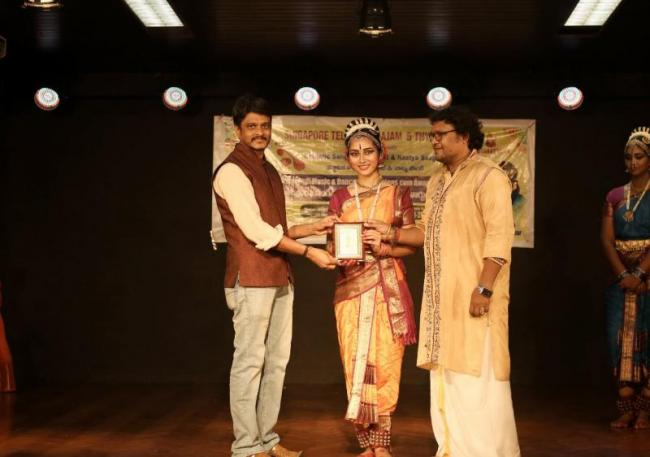 STS Tyagayya Tv International carnatic program held in Singapore - Sakshi