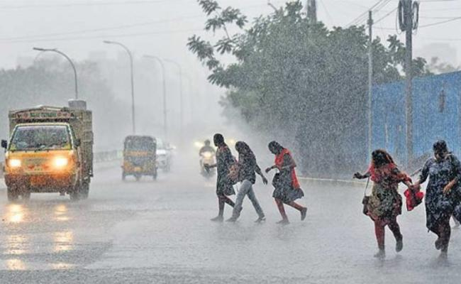 Disaster Management Said Surface Freequency In Bay Of Bengal Rain Fall In AP And TS - Sakshi