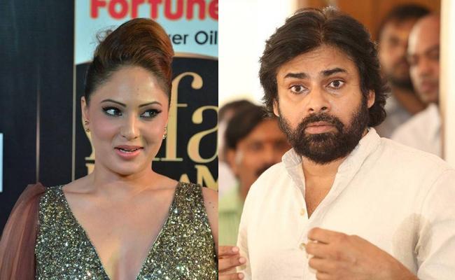 Nikesha Patel Mistake in Social Media On Pawan Kalyan Birthday - Sakshi