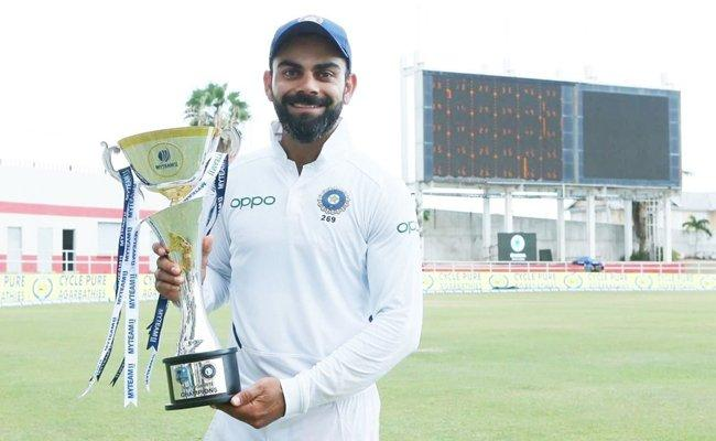 Virat Kohli Says Its By Product Of Quality Team After Test Captaincy Record - Sakshi