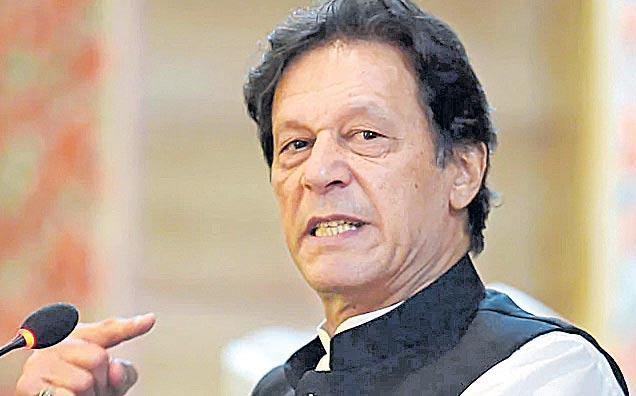 Imran Khan Says They Wont Use Nuclear Weapons First - Sakshi