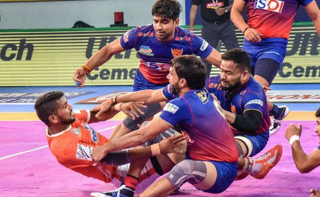 Dabang Delhi Beat Puneri Paltan 60-40 - Sakshi