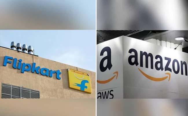 Amazon Flipkart claims Record  sales In fesitve lase - Sakshi