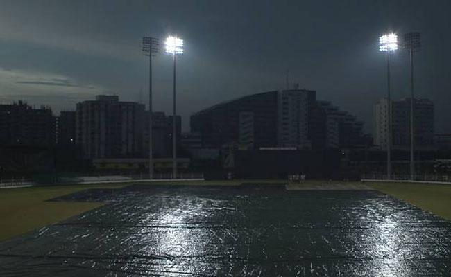 India Women Vs South Africa Women 3rd T20 Match Abandoned Due To Wet Outfield - Sakshi