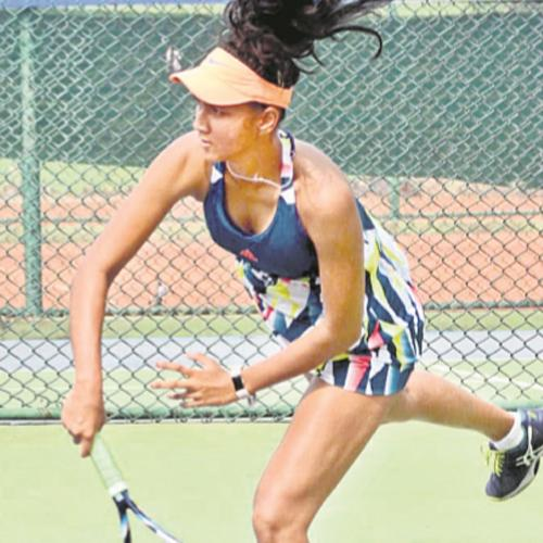 Rashmika In Main Draw Of Fenesta Open - Sakshi