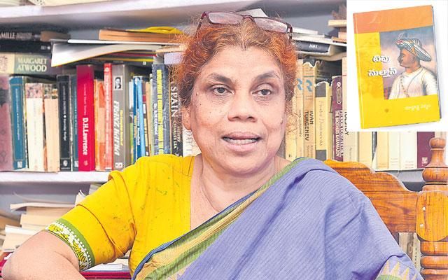 Author Nirmala Writing A Book About Tipu Sultan - Sakshi